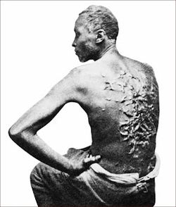 American slave whipped
