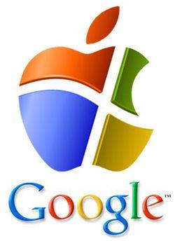 Digital-wars-apple-microsoft-google-logos