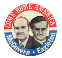McGovern_Eagleton_come_home_busy_beaver_button_museum