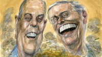 Koch brothers cartoon rolling stone