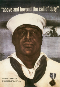 Wwii poster with Pearl Harbor victim