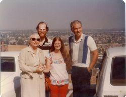 Tillie Dana Jenni and Fred Blankenhorn summer 1979