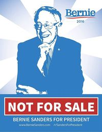 Bernie sanders not for sale