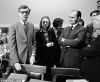Hillary clinton watergate intern