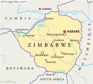 Zimbabwe_political_map