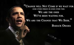 Obama change quote