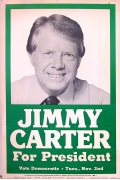 Jimmy carter 1977 campaign sign