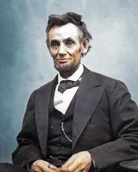 Lincoln colorized