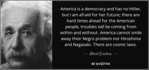 Einstein on democracy