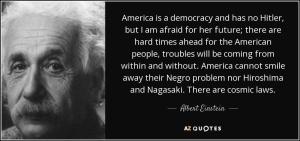 Einstein on democracy