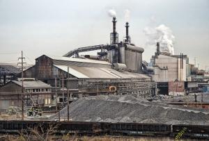 Rust belt factory