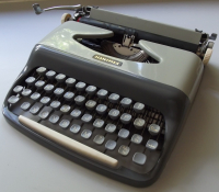 Czech portable typewriter