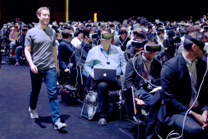 Zuckerberg and vr headsets