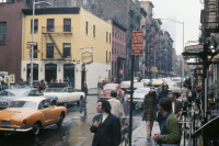 Greenwich village in 1971 by peter manzari