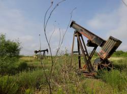 Abandoned oil wells