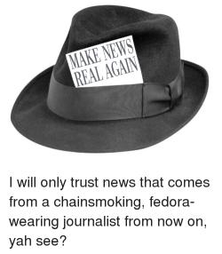 Make news real again