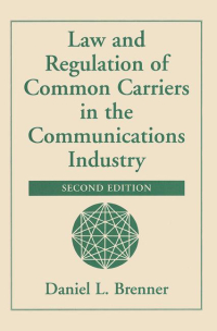 Common carrier regulation book