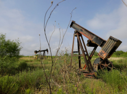 Abandoned oil wells