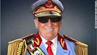 Trump as african dictator