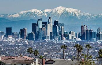 LA during pandemic