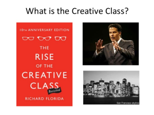 The-rise-of-the-creative-class