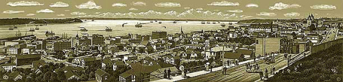 SEATTLE in 1892