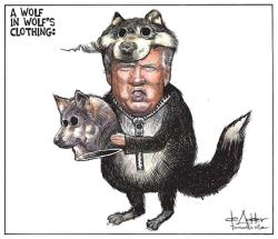 Michael-de-adder-trump-the-wolf