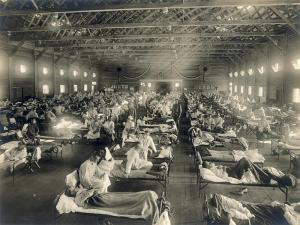 1918 flu hospital