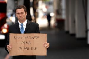 Unemployed-mba-grad