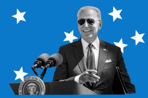 Biden with sunglasses