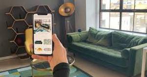 Virtual furniture showroom